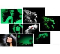 Светящаяся в темноте фотобумага-пленка InkPRINT A4, полуглянцевая, 1 лист