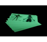Светящаяся в темноте фотобумага-пленка InkPRINT A3, полуглянцевая, 1 лист