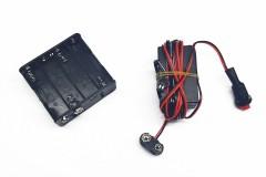 Блок питания 12В (8хАА Battery) для светового провода 0-15м