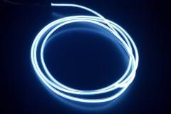 Холодный неон гибкий EL NEON, 2.3мм белый (метр)