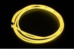 Холодный неон гибкий EL NEON, 2.3мм желтый хром (метр)