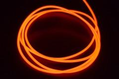 Холодный неон гибкий EL NEON, 2.3мм красный (метр)