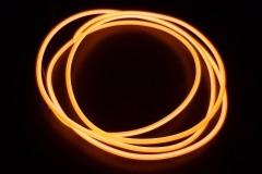 Холодный неон гибкий EL NEON, 2.3мм оранжевый (метр)