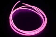 Холодный неон гибкий EL NEON, 2.3мм розовый (метр)