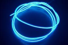 Холодный неон гибкий EL NEON, 2.3мм синий (метр)