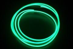 Холодный неон гибкий EL NEON, 2.3мм зелёный (метр)