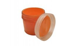 Краска Glow Night (люминесцентная, акриловая латексная на водной основе) Оранжевая 100г
