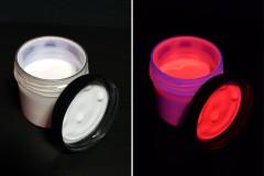 Невидимая флуоресцентная краска INVISIBLE FANTOM (Красная, акриловая)