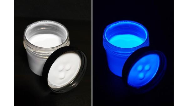 Невидимая флуоресцентная краска INVISIBLE FANTOM (Синяя, акриловая)