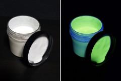 Невидимая флуоресцентная краска INVISIBLE FANTOM (Желтая, акриловая)
