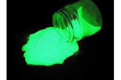 Зеленый ЛЮМИНОФОР (светящийся порошок) ТАТ 33