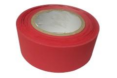 Лента светоотражающая красная High Reflective Tape, ширина 50 мм, влаго-, морозо-, атмосферо- и износостойкая, 1 метр