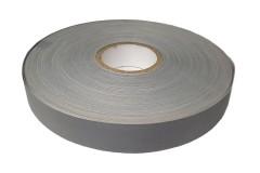 Лента светоотражающая серая High Reflective Tape, ширина 25 мм, влаго-, морозо-, атмосферо- и износостойкая, 1 метр