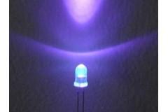 Ультрафиолетовый диод 3мм