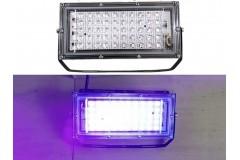 Прожектор ультрафиолетовый диодный LED 50Вт UV 220в